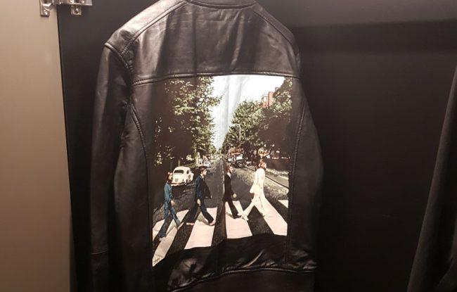 Abbey Road Beatles leather jacket
